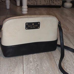 Kate Spade shoulder bag black and white